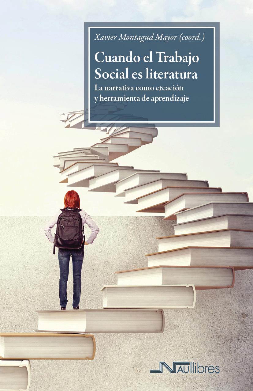 """Presentació del llibre """"Cuando el Trabajo Social es literatura"""" en el Primer correbars de treball social de lleida organitzat per Àgora de Treball Social de Lleida"""