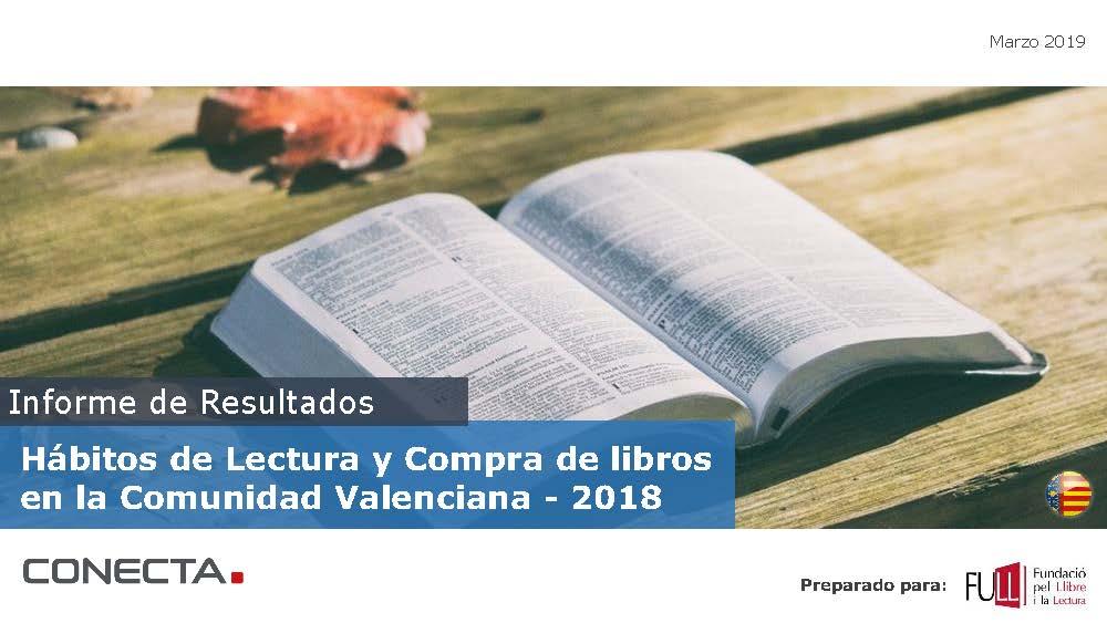 El 95,9% dels valencians llegeixen, almenys, una vegada per trimestre